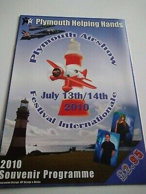 £7.99 • Buy Plymouth 2010 Airshow Programme