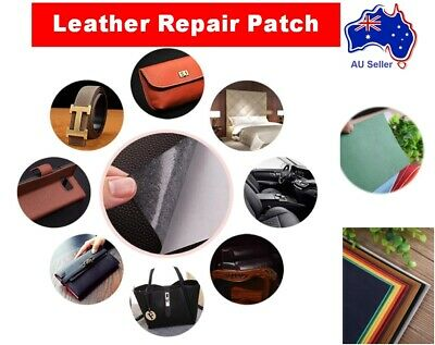 AU5.99 • Buy PU Leather Repair Patch Self-Adhesive For Couch Car Seat Bag Jacket Upholstery