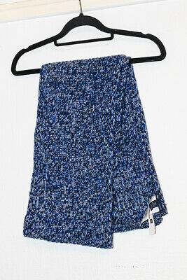 Brand New GAP Blue Scarf, Pure Wool,190cmX25cm • 7£