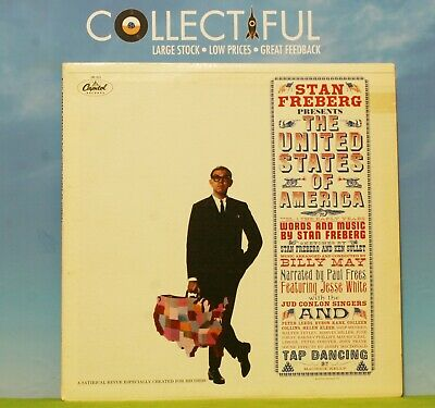 Stan Freberg - The United States Of America - Capitol 1961 Ex Vinyl Lp Record 🔥 • 1.86£