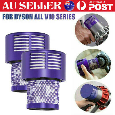 AU18.88 • Buy Genuine For DYSON Filter V10 Cyclone Animal Absolute Total Clean Washable 2 Pack