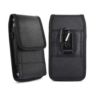 AU16.14 • Buy Cell Phone Vertical Pouch Holster Case Nylon Belt Loop Clip Carrying Bag Cover