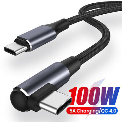AU5.99 • Buy PD 60W 100W USB C To USB C Fast Charger Dual Type C Charging Data Sync USB Cable