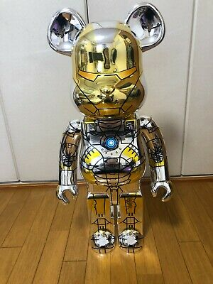 $6800 • Buy Be@rbrick Sorayama Ironman 1000%