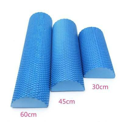 AU8.99 • Buy 30/45/60cm EVA Foam Yoga Roller Fitness Gym Exercise Massage Float Half Round