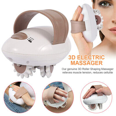 £11.99 • Buy 3D Electric Anti-Cellulite Face Neck Body Massager Roller Shaping Massaging Tool