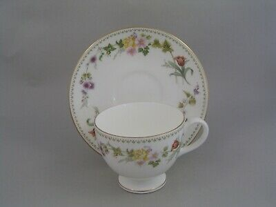 £8.99 • Buy Wedgwood Mirabelle Cup And Saucer, R 4537.