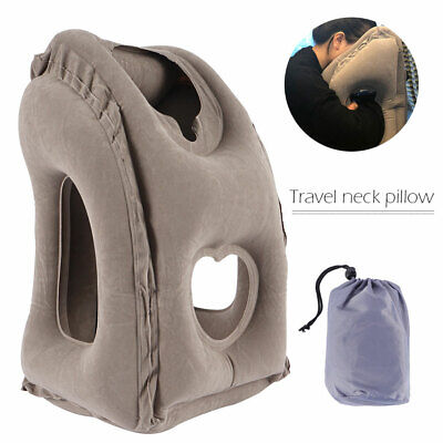 AU20.12 • Buy Inflatable Air Travel Pillow Airplane Head Cushion Neck Support Nap Rest