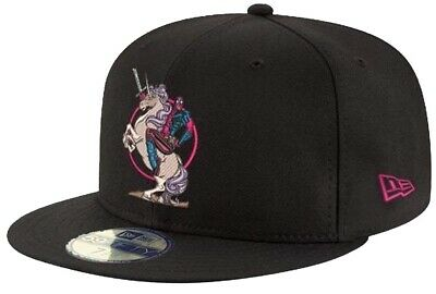 New Era Deadpool Unicorn Black 59Fifty 5950 Fitted Cap Marvel Limited Edition • 46.37£