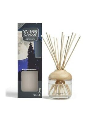 Yankee Candle Midsummer's Night Reed Diffuser 120ml Room Fragrance • 16.45£