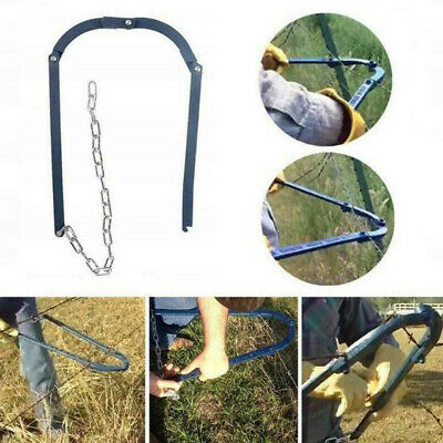£28.34 • Buy Garden Fence Repair Tool Guardrail Wire Chain Tensioner Fencing Strainer Fixer