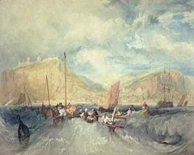 £17.99 • Buy Turner A3 Print Hastings From The Sea