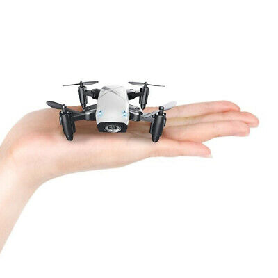 AU31.41 • Buy Mini Drone Foldable Pocket Quadcopter For Kids Beginners White