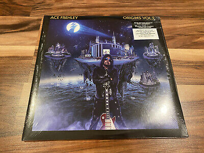 IN HAND * Sealed Ace Frehley Origins Vol. 2 Opaque Gold Vinyl KISS 45RPM • 95.71£
