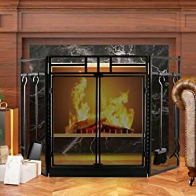 £82.50 • Buy Nursery Stove Fire Screen Guard Child Safety Fireplace Wood Burner Protection UK