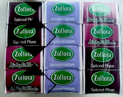 Zoflora Assorted 12 X 120ml Midnight Blooms Lavender Escape Spiced Plum  • 14.99£