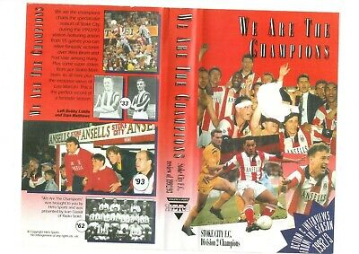 Stoke City We Are The Champions  Dvd • 10£
