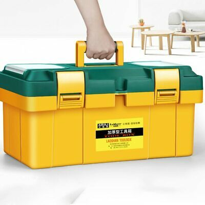 £18.99 • Buy Large Toolbox Household Maintenance Electrician Tool Box Multifunctional ABS