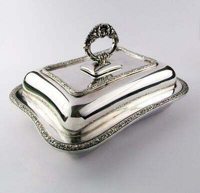 TIFFANY & CO ORIGINAL ANTIQUE Silver Plated ENTREE DISH C1890 • 175£