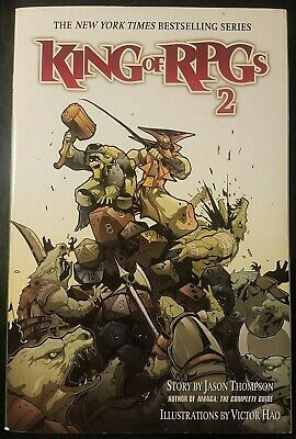 King Of RPGs 2 TPB Graphic Novel Manga Book Del Rey Paperback By Jason Thompson • 3.58£