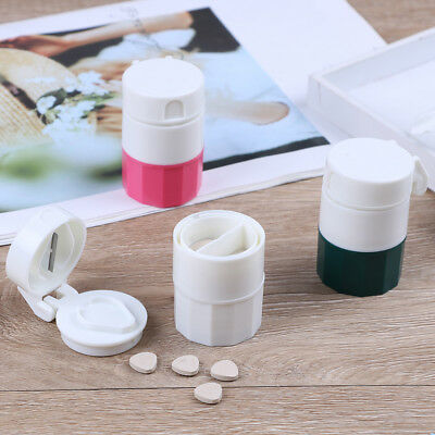 AU8.87 • Buy 4 In 1 Pill Medicine Crusher Grinder Splitter Tablet Divider Cutter Stora^ji