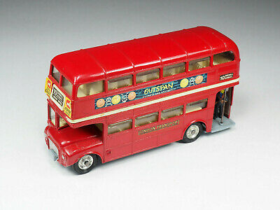 CORGI - 468 - London Transport Routemaster Bus «Outspan  - Clear Stairs • 57.79£