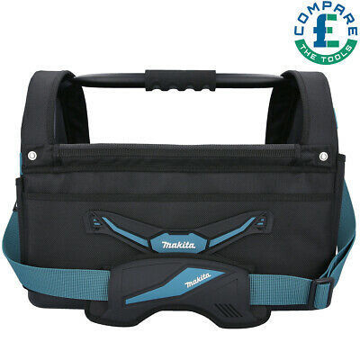Makita E-05430 Blue Collection Large Open Tote Power Tool Bag With Strap • 50.90£