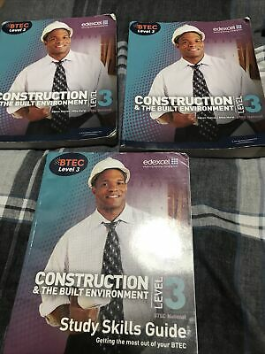 £100 • Buy BTEC Level 3 National Construction And The Built Environment Student Book By...