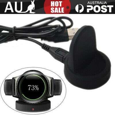 AU20.99 • Buy For Samsung Gear S3 Classic / Frontier Charging Dock Cradle Charger +USB Cord