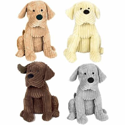 Take Me Home Chunky Cord Ribbed Cute Dog Door Stop ~ 28cm Fabric Doorstop • 12.99£