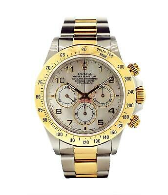 $ CDN22321.88 • Buy Rolex Daytona Zenith Vintage Ref. 16523 Factory MOP Dial 18k Yellow Gold & Steel