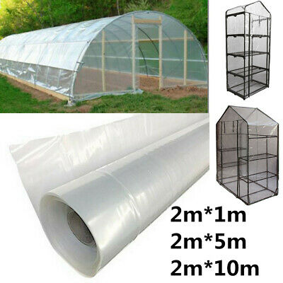 Greenhouse Film 2Mx1-25m Clear Plastic Covering Domestic Commercial High Quality • 10.51£