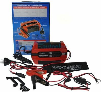 AU138.30 • Buy Projecta Pc400 12V 12 Volt Battery Charger 6 Stage 4 Amp 4A  Agm Gel Sla New