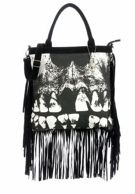 Iron Fist  Loose Tooth Fringed Tote Bag - Brand New! • 62.12£