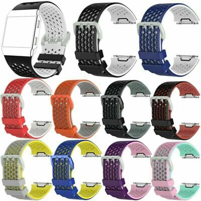 $ CDN12.70 • Buy Soft Flexible Silicone Wristwatch Band Strap Replacement Parts For Fitbit Ionic