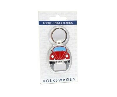 Genuine VW Classic Beetle Bottle Opener Keyring Accessory Gift ZGB4180814040 • 8£