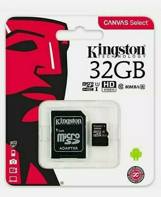 32GB Micro SD Card MEMORY TF U1 For Mobile,Tablet,Camera,Dash Cam,Sat Nav 100MBs • 3.99£