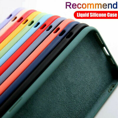 AU9.99 • Buy For IPhone 12 Pro Max 11 XS XR X 8 7 Liquid Silicone Baby Soft Phone Case Cover