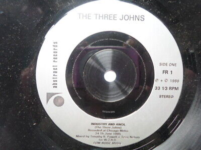 Three Johns Industry And AWOL 7  Abstract FR1 EX 1986 Originally Came With The W • 4.99£
