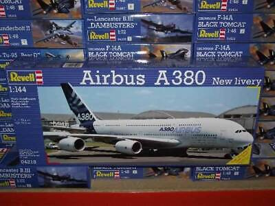 Revell 1/144 4218 Airbus A380 Design New Livery  First Flight  • 23.99£
