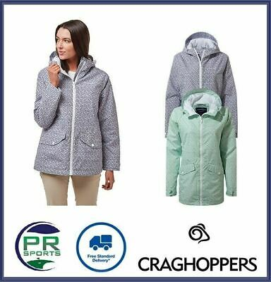 New Craghoppers Womens Outdoor Winter Sabrina Jacket Waterproof Breathable • 37.99£
