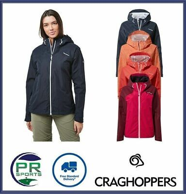 New Craghoppers Womens Outdoor Winter Toscana Jacket Waterproof Breathable • 27.99£