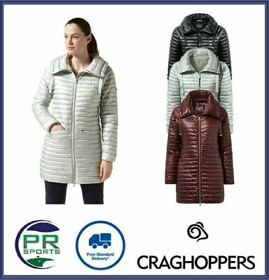 £22.99 • Buy New Craghoppers Womens Outdoor Winter Mull Jacket Baffled Warm Thermo Pro