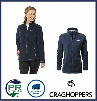 New Craghoppers Womens Outdoor Winter Seline Zip Fleece Jacket Warm Insulated • 16.99£