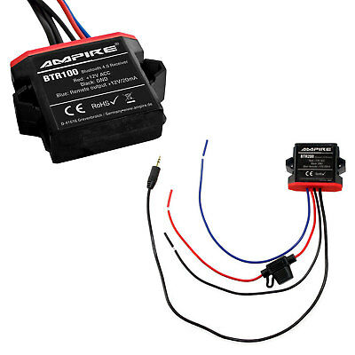 Original Ampire Bluetooth Interface Aux Jack MP3 Adapter For Many Vehicles • 44.86£