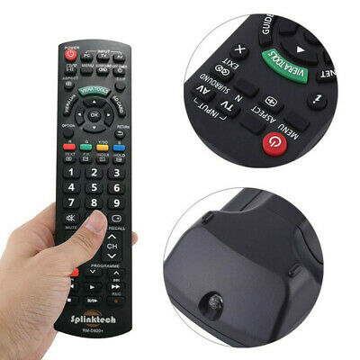 £4.95 • Buy NEW Replacement Remote Control For Panasonic VIERA TV EUR7651070A EUR7651070B