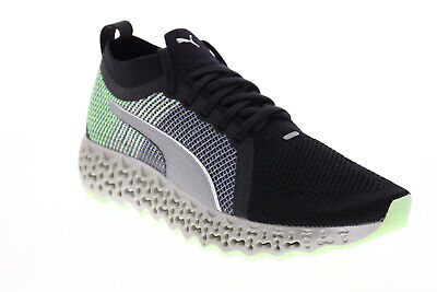 AU88.30 • Buy Puma Calibrate Runner 19450202 Mens Black Canvas Lifestyle Sneakers Shoes 7.5