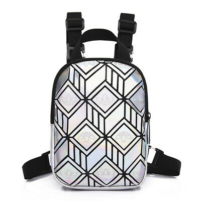 AU44.95 • Buy Adidas 3D GEO Mesh Mini Backpack - Silver