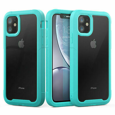 AU11.99 • Buy Bumper Heavy Duty Shockproof Case Cover IPhone 12 Pro Max 11Pro XR X 6/6S/7/8+