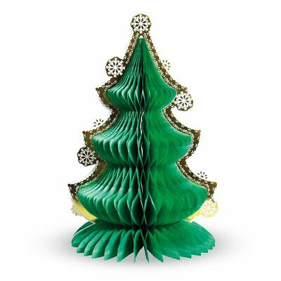 Large Honeycomb Christmas Tree Table Centrepiece Christmas Party Decoration 30cm • 4.49£